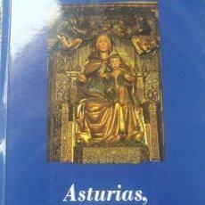 Libros antiguos: ASTURIAS TRONO DE LA MADRE DE DIOS. Lote 137140426