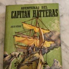Alte Bücher - Coleccion Juvenil Cadete -Nº 33. AVENTURAS DEL CAPITÁN HATERAS. JULIO VERNE(13€) - 137215754