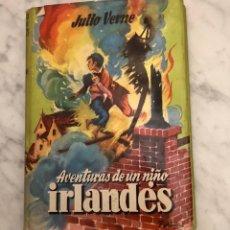 Alte Bücher - Coleccion Juvenil Cadete-101.-AVENTURAS DE UN NIÑO IRLANDES-JULIO VERNE(13€) - 137224166