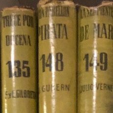 Alte Bücher - Coleccion Juvenil Cadete- 3TOMOS(39€)135--148,149 - 137239650