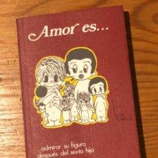 Libros antiguos: AMOR ES -NOGUER-(9€/UND)-8TOMOS(72€)---------5-(9€). Lote 137246630