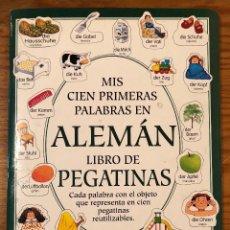 Libros antiguos: CULTURA--MIS CIEN PRIMERAS PALABRAS EN ALEMÁN(9€). Lote 137247950