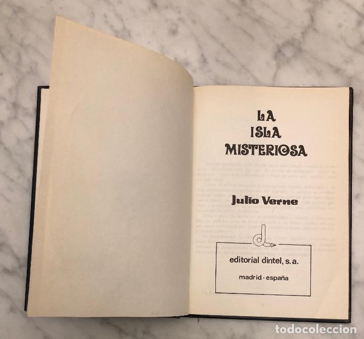 Libros antiguos: LIBROS DE AVENTURAS 6--TOMO2-la isla misteriosa-JulioVerne(8€) - Foto 3 - 137248658