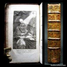 Libros antiguos: AÑO 1803 AÑO XI DEL CALENDARIO REPUBLICANO FRANCÉS CARTAS DE FRANCISCO DE SALES GRABADO FRONTISPICIO. Lote 137260994