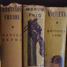 Alte Bücher - Coleccion Robin Hood 8 (4+4)(11€Und)(88€)-3TOMOS-ACME AGENCY(33€) - 137323694