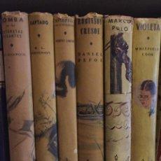 Alte Bücher - Coleccion Robin Hood 8 (4+4)(11€Und)(88€)-6TOMOS(11€Und) (3+3)(66€) - 137324118