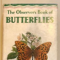 Alte Bücher - EN INGLES--THE OBSERVER´S BOOK OF-BUTTERFLIES(13€) - 137353218