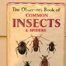 Alte Bücher - EN INGLES--THE OBSERVER´S BOOK OF-INSECTS(13€) - 137353494