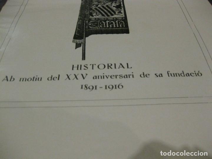 Libros antiguos: Historal orfeo català , b motiu delXXV aniversari de sa fundació 1916 fotografias historia - Foto 2 - 137365458