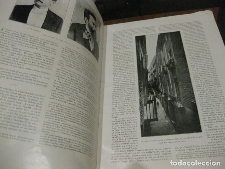 Libros antiguos: Historal orfeo català , b motiu delXXV aniversari de sa fundació 1916 fotografias historia - Foto 3 - 137365458