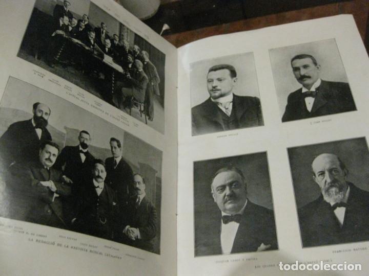 Libros antiguos: Historal orfeo català , b motiu delXXV aniversari de sa fundació 1916 fotografias historia - Foto 5 - 137365458