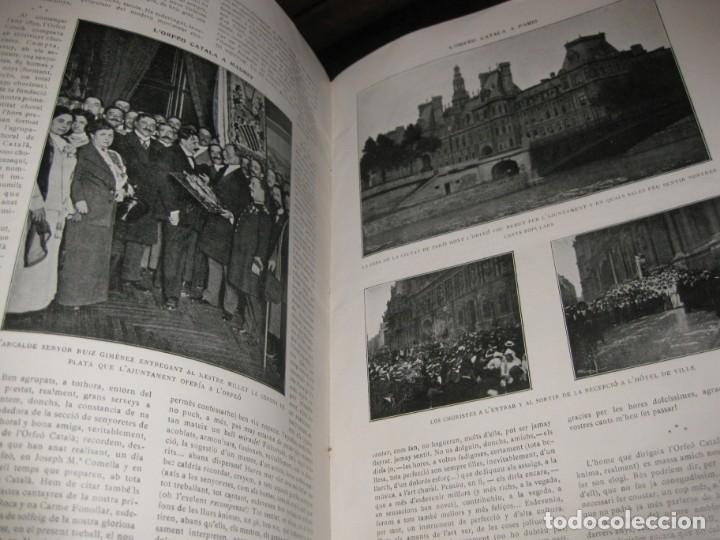Libros antiguos: Historal orfeo català , b motiu delXXV aniversari de sa fundació 1916 fotografias historia - Foto 8 - 137365458