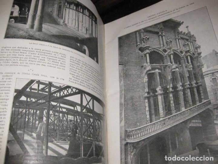 Libros antiguos: Historal orfeo català , b motiu delXXV aniversari de sa fundació 1916 fotografias historia - Foto 10 - 137365458
