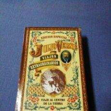Libros antiguos: VIAJE AL CENTRO DE LA TIERRA. EDICIÓN ESPECIAL JULIO VERNE. VIAJES EXTRAORDINARIOS.. Lote 137390702