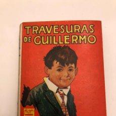 Libros antiguos: AVENTURASGUILLERMO-EDIT.MOLINO-RICHAL CROMPTON-1TRAVESURAS DE GUILLERMO(12€). Lote 137420586