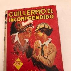 Libros antiguos: AVENTURASGUILLERMO-EDIT.MOLINO-RICHAL CROMPTON-4GUILLERMO EL INCOMPRENDIDO(12€). Lote 137420834