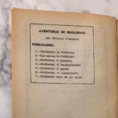 Libros antiguos: AVENTURASGUILLERMO-EDIT.MOLINO-RICHAL CROMPTON-7TOMOS(12€/UND)(84€). Lote 137421210