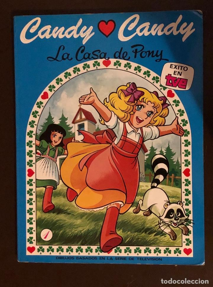 CANDYCANDY-EDICIONESRECREATIVAS-LA CASA DE PONY(6€) (Libros Antiguos, Raros y Curiosos - Literatura Infantil y Juvenil - Otros)