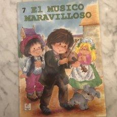 Libros antiguos: COLECCION CUENTOS PARA DORMIR-LEANDROLARAEDITOR-EL MUSICO MARAVILLOSO(9,5€). Lote 137422866
