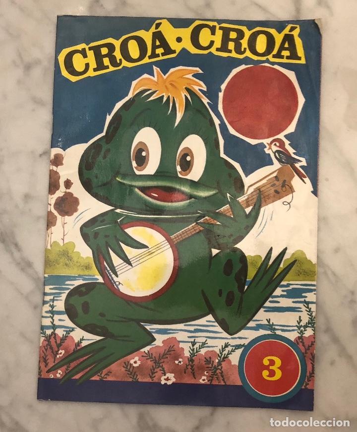 CROÁ CROÁ (6€) (Libros Antiguos, Raros y Curiosos - Literatura Infantil y Juvenil - Otros)