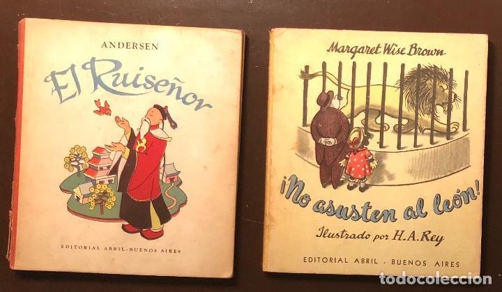CUENTOS-EDITORIAL ABRIL-BUENOS AIRES-(7€/UND) 5 CUENTOS((35€) (Libros Antiguos, Raros y Curiosos - Literatura Infantil y Juvenil - Otros)