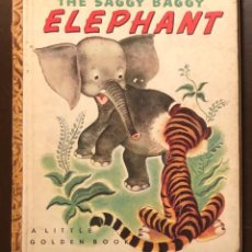 Alte Bücher - EN INGLES--A LITTLE GOLDEN BOOK-4 CUENTOS EN INGLES-2The Saggy Baggy ELEPHANT(7€) - 137437094