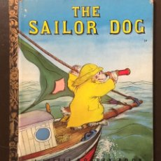 Alte Bücher - EN INGLES--A LITTLE GOLDEN BOOK-4 CUENTOS EN INGLES-3The SAILOR DOG(7€) - 137437170
