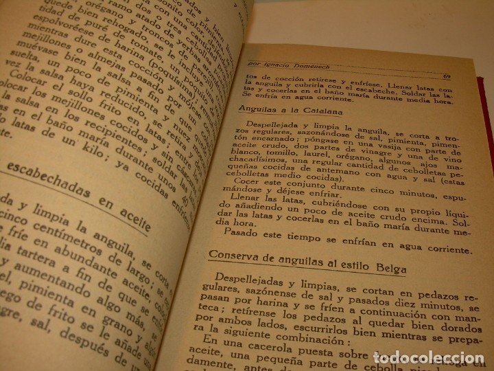 Libros antiguos: LIBRO DE NUEVAS CONSERVAS Y DULCES...AÑO 1925 - Foto 8 - 137446206