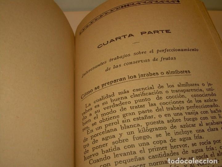 Libros antiguos: LIBRO DE NUEVAS CONSERVAS Y DULCES...AÑO 1925 - Foto 10 - 137446206