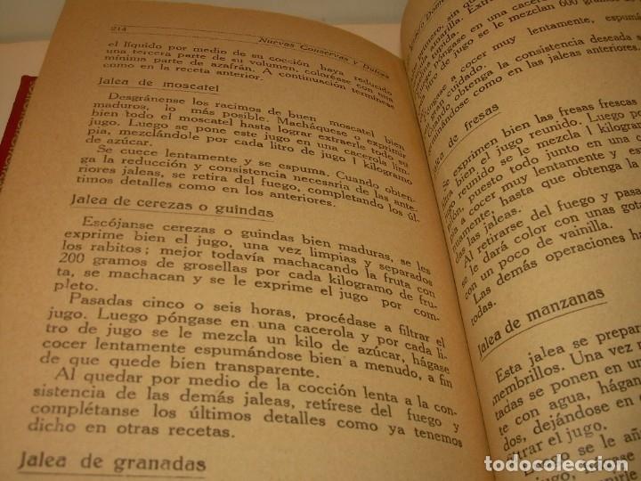 Libros antiguos: LIBRO DE NUEVAS CONSERVAS Y DULCES...AÑO 1925 - Foto 12 - 137446206
