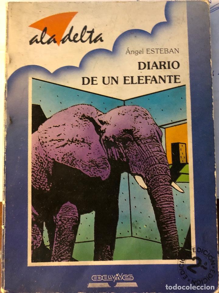 ALA DELTA-EDELVIVES-Nº82-DIARIO DE UN ELEFANTE(9€) (Libros Antiguos, Raros y Curiosos - Literatura Infantil y Juvenil - Otros)