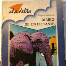 Libros antiguos: ALA DELTA-EDELVIVES-Nº82-DIARIO DE UN ELEFANTE(9€). Lote 137447530