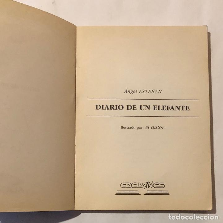 Libros antiguos: ALA DELTA-EDELVIVES-Nº82-Diario de un Elefante(9€) - Foto 2 - 137447530