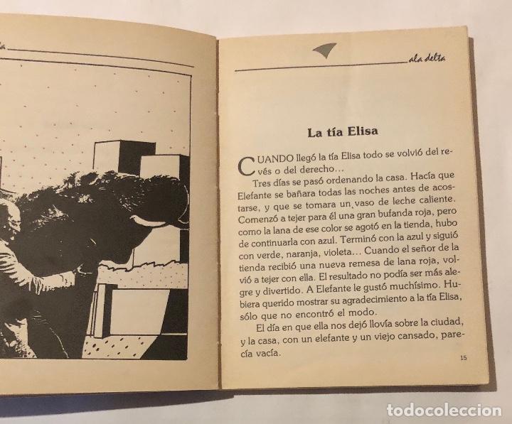 Libros antiguos: ALA DELTA-EDELVIVES-Nº82-Diario de un Elefante(9€) - Foto 3 - 137447530