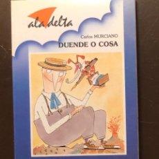Libros antiguos: ALA DELTA-EDELVIVES-Nº103-DUENDE O COSA(9€). Lote 137447590
