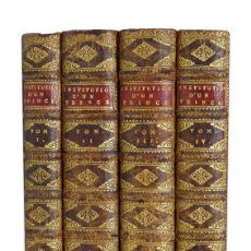 Libros antiguos: ABBÉ DUGUET. INSTITUTION D'UN PRINCE;TRAITÉ DES QUALITEZ, VERTUS ET DEVOIRS D'UN SOUVERAIN. 1739. Lote 137475721