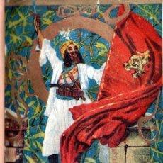 Libros antiguos: EMILIO SALGARI : LA RECONQUISTA DE MOMPRACEM (MAUCCI, S.F.). Lote 137535806