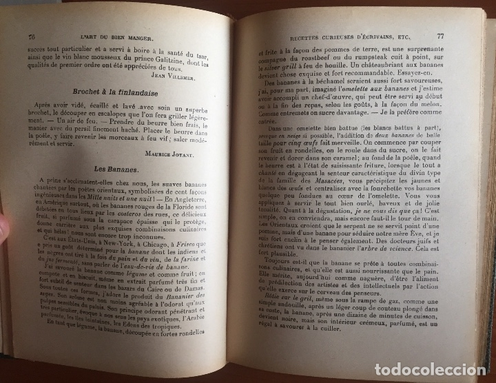 Libros antiguos: COCINA CUISINE- L´ART DU BIEN MANGER- VINS- EDMON RICHARDIN- PARIS 1.913- MAS DE 2.000 RECETAS - Foto 6 - 137533754
