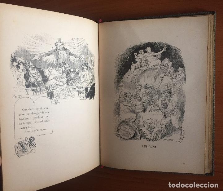 Libros antiguos: COCINA CUISINE- L´ART DU BIEN MANGER- VINS- EDMON RICHARDIN- PARIS 1.913- MAS DE 2.000 RECETAS - Foto 8 - 137533754