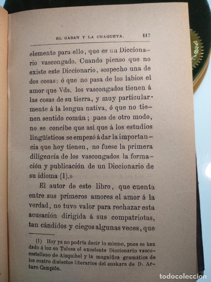 Libros antiguos: EL GABÁN Y LA CHAQUETA POR DON ANTONIO DE TRUEBA - TOMOS 1 Y 2 - MADRID - EL COSMOS EDITORIAL - 1884 - Foto 4 - 137542074