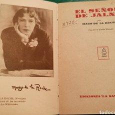 Libros antiguos: LIBRO EL SEÑOR DE JALNA. MAZO DE LA NOCHE. EDICIONES LA NAVE. MADRUD. NM 58. Lote 137557888