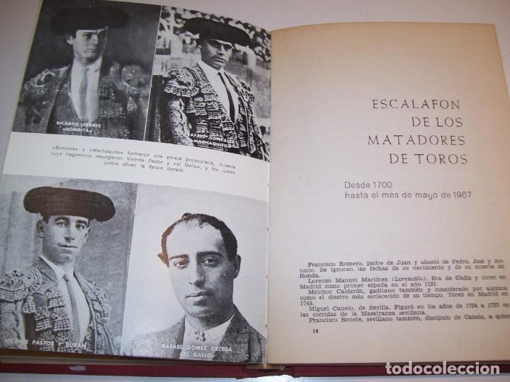 Libros antiguos: ENCICLOPEDIA TAURINA!!! POR J. SILVA ARAMBURU * PEPE ALEGRÍAS*LEER DESCRIPCIÓN!!! - Foto 7 - 137568126