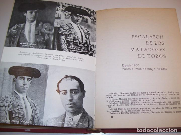 Libros antiguos: ENCICLOPEDIA TAURINA!!! POR J. SILVA ARAMBURU * PEPE ALEGRÍAS*LEER DESCRIPCIÓN!!! - Foto 10 - 137568126