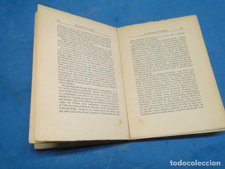 Libros antiguos: LA DESTRUCCIO DE POBLET . - EDUARD TODA I GÜELL - Foto 5 - 137609706