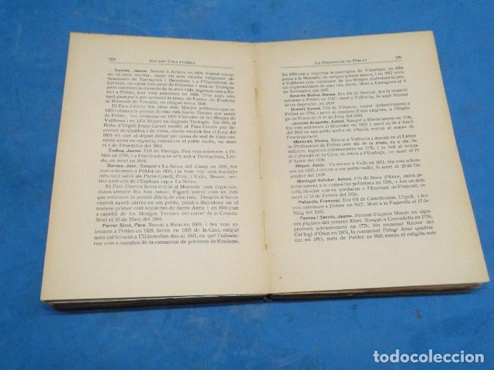 Libros antiguos: LA DESTRUCCIO DE POBLET . - EDUARD TODA I GÜELL - Foto 6 - 137609706