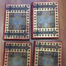 Libros antiguos: LA SAGRADA BIBLIA EN 4 TOMOS. ILUSTRADA POR GUSTAVO DORÉ. EDITORES MONTANER Y SIMON. 1888. 39,5X29,5. Lote 137651982