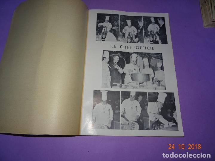 Libros antiguos: Antiguo Catálogo ROTISSERIE de la TABLE DU ROY con el Chef GEORGES del Restaurante LEDOYEN - Foto 2 - 137672170