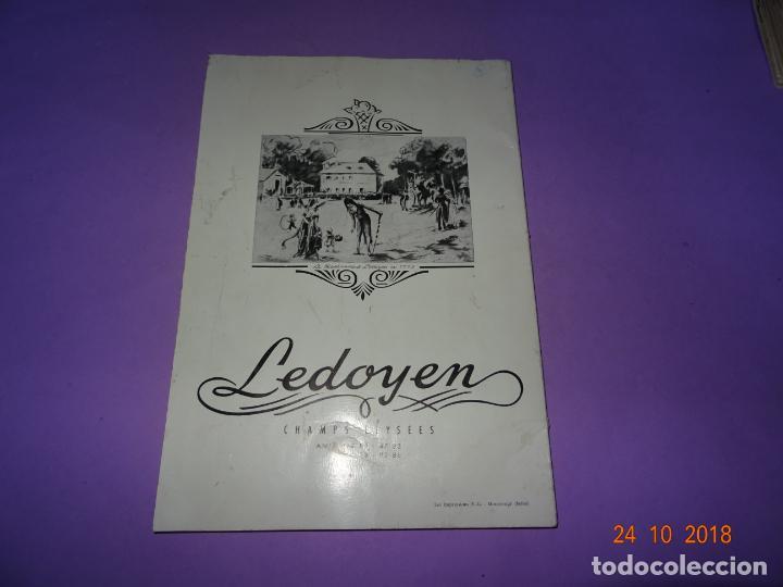 Libros antiguos: Antiguo Catálogo ROTISSERIE de la TABLE DU ROY con el Chef GEORGES del Restaurante LEDOYEN - Foto 5 - 137672170