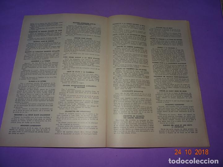 Libros antiguos: Antiguo Catálogo ROTISSERIE de la TABLE DU ROY con el Chef GEORGES del Restaurante LEDOYEN - Foto 6 - 137672170