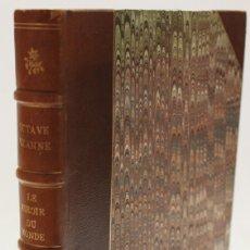 Libros antiguos: LE MIROIR DU MONDE. - UZANNE, OCTAVE. - PARÍS, 1888.. Lote 123254952